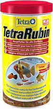 Tetra Rubin 1L Flockenfutter für intensive Farbenpracht Farbfutter für Fische