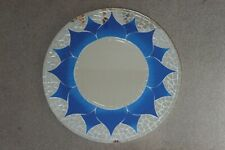 Superb Hand Crafted Mosaic Mirror With Blue Design Oriental Style  60 Cm. Wide