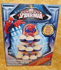 Spider-Man,Ultimate Cupcake/Treat Stand,Cardboard,Wilton,1512-5070,Muli-Color,