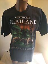Souvenir TSHIRT XL Graphic Rare Vacation Northern Thailand Chiangmai Jungle Tour