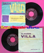 LP 45 7'' CLAUDIO VILLA Amor mon amour my love La bufera 1963 italy no cd mc*dvd
