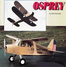 "Model Airplane Plans (RC): OSPREY 30"" for .049 by Joe Wagner (Veco Dakota)"