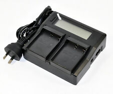 Quick LCD Battery Charger for Olympus BLH-1 BCH-1 BLH1 OMD EM1 E-M1 Mark II 2