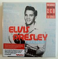 """FRENCH NEW BOXSET 2 x CD ♦ ELVIS PRESLEY - """"INFLUENCE COLLECTION"""""""