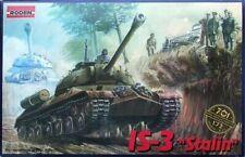 Roden 701 IS-3 Stalin Soviet heavy tank 1943-1953, 1/72 scale plastic model WWII