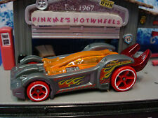 2014 FLAME FIGHTERS Design TOOLIGAN☆Gray/Red/Orange;Rescue Tool☆LOOSE☆Hot Wheels