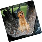 KIMHY Camo Dog Car Back Seat Cover for Pets, Waterproof Pet Seat Covers Hammo...