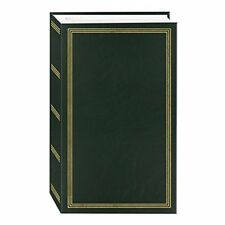 NEW 3 Ring Photo Album 504 Pockets Hold 4x6 Photos Hunter Green FREE SHIPPING
