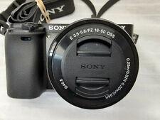 Sony A6000 Mirrorless Digital Camera 24.3MP  w/Lens0438092