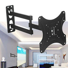 Full Motion TV Wall Mount Bracket Tilt Swivel LCD LED 20 22 24 26 27 32 37 40 42