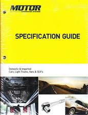 2006 2013 2014 2015 MOTOR Automotive Light Truck Van SUV Specification Guide