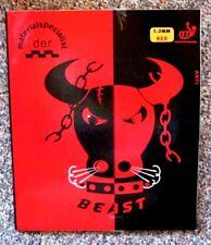 der Materialspezialist Beast Anti rot 1,5 mm Antitop red table tennis rubber top