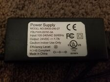 Power Supply Adapter Model No: SW20-240-27 for Verifone Omni 3750 POS MSR k1