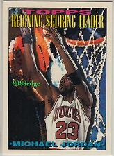 1993-94 TOPPS NBA SUBSET CARD #384: MICHAEL JORDAN - REIGNING SCORING LEADER
