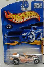 FIREBIRD PONTIAC FOSSIL FUEL 043 43 SILVER DRAG RACE FUNNY CAR HW HOT WHEELS
