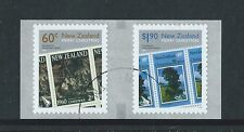 NEW ZEALAND 2010 CHRISTMAS COIL SET OF 2 FINE USED