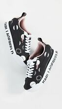 Puma x Karl Lagerfeld Roma Amor Polka Dot Black Women Size 8 Limited Edition