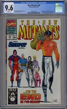 New Mutants #99 CGC 9.6 NM+ Wp 1st Feral + 1st Shatterstar in Cameo Marvel 1991