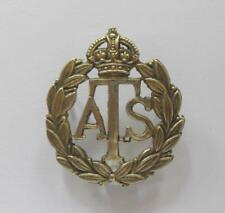 BRITISH ARMY CAP BADGE. AUXILIARY TERRITORIAL SERVICE.