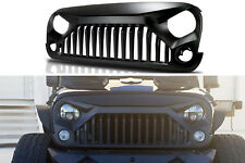 2007-2017 Jeep Wrangler & Wrangler Unlimited JK Front Grill Matte Black