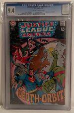 JUSTICE LEAGUE OF AMERICA #71 - CGC 9.4 - MARTIAN MANHUNTER LEAVES