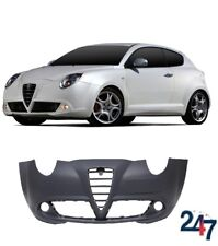 NEW ALFA ROMEO MITO 08- FRONT BUMPER WITHOUT HEADLIGHT WASHER HOLES PRIMED
