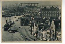 AK Emden Hafen Werften Vorkrieg Photo Dr. P. Wolff