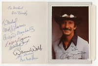 Billy Martin and others signed autographed greeting card! Guaranteed Authentic!