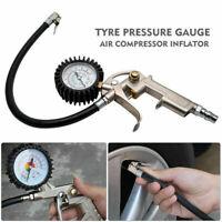 Car Van Tyre Pressure Guage Meter Air Inflator Dial Compressor Checker Tool UK