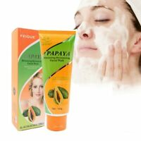 Papaya Whitening  Facial Beauty Skin Care Anti Freckle Moisturizing Cleansing
