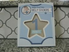 New! Stepping Stones. Baby's first year Belly stickers