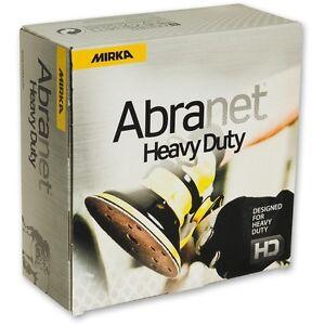 Mirka Abranet ACE HD Heavy Duty Abrasive Sanding Discs - 150mm Box 25