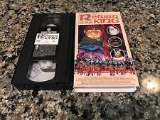 The Return Of The King VHS! 1979 Frodo The Hobbit! Lord Of The Rings
