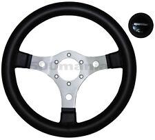 Steering wheel in skin Sky black ø 320 mm for Fiat F 500/L/R and Fiat 126