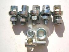 SERRE TRINGLE (PAR 6) L 19,5mm X 10mm X D 5mm POUR TRINGLE DE 5mm / VINTAGE 70's