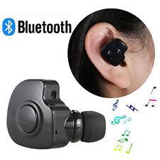 Black Mini Bluetooth V4.1 Earphone Wireless earbuds Earpiece Headset handsfree