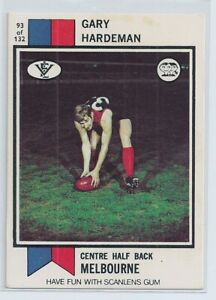 1974 Scanlens football card Gary Hardeman card  no 93 near mint condition
