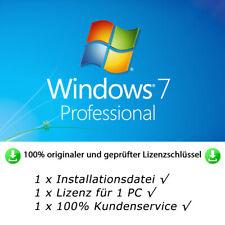 MS Windows 7 Professional 32bit/64bit Instant Multilanguage Original License Key
