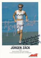 Jürgen ZÄCK - Deutschland, Gold WM 1992 Triathlon, Original-Autogramm!