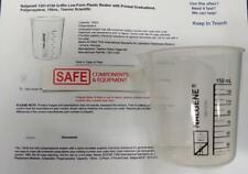 Nalgene 150ml Beaker Graduated Griffin Low Form Plastic 1201 0150 Qty 1 Mm 573