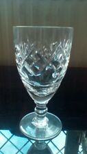 "Royal Doulton Crystal Georgian pattern Sherry Glass - 11.2cms (4-3/8"") tall"