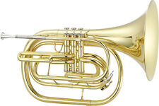 Jupiter 550L Marching French Horn in Lacquered Brass BRAND NEW