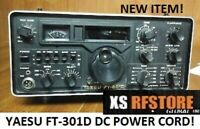 YAESU FT-301D DC POWER CORD! NEW BUILD QUALITY FAST USA FREE SHIP!