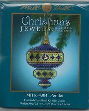 Peridot Christmas Jewels Ornament by Mill Hill Bead Kit