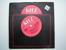Foster & Allen - A Bunch Of Thyme / The Blacksmith, Ritz Records RITZ-5 Single