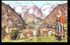 Aosta Courmayeur cartolina GENOS08-908 SZF
