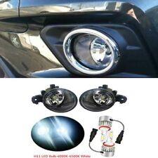 H11 LED Bulb Len Fog Lamp Light For Infinit Nissan Rogue Versa X-Trail Qashqai