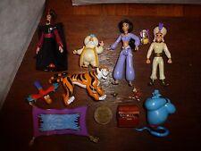 Paquete Disney Aladdin Figura Juguete Juegp Genie Jasmine Sultan Abu Rajah Jafar