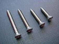 80 pc #8 with #6 phillips oval interior garnish moulding screws stainless Mopar