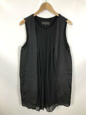 TIGHA Kleid, Größe XL, schwarz, mit Seide